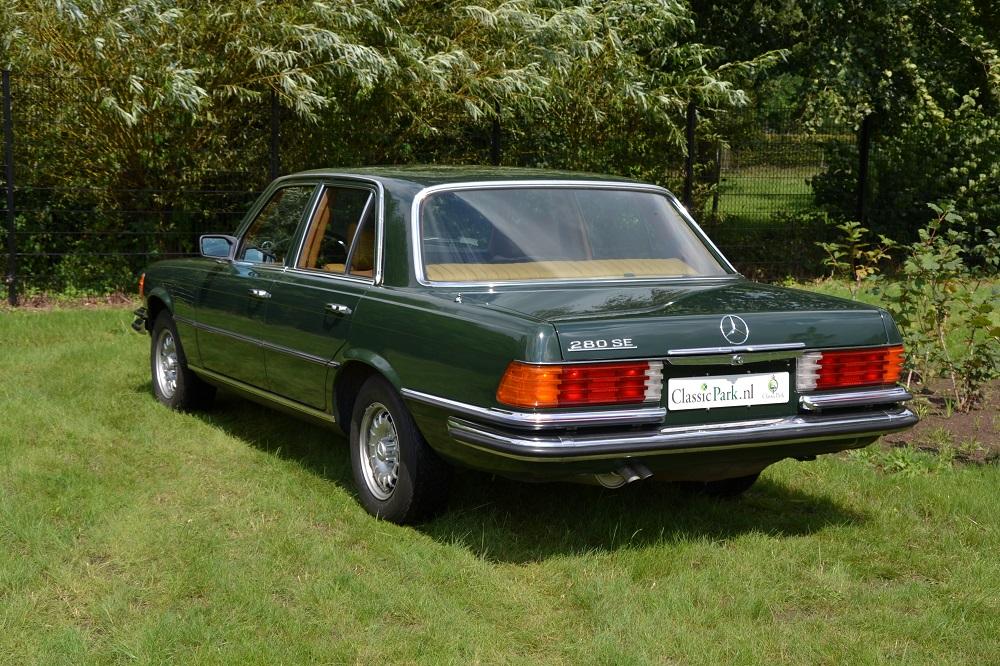 Classic park cars mercedes benz 280 se for Mercedes benz winter park