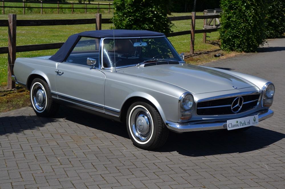 Classic park cars mercedes benz 230 sl pagode for Mercedes benz winter park