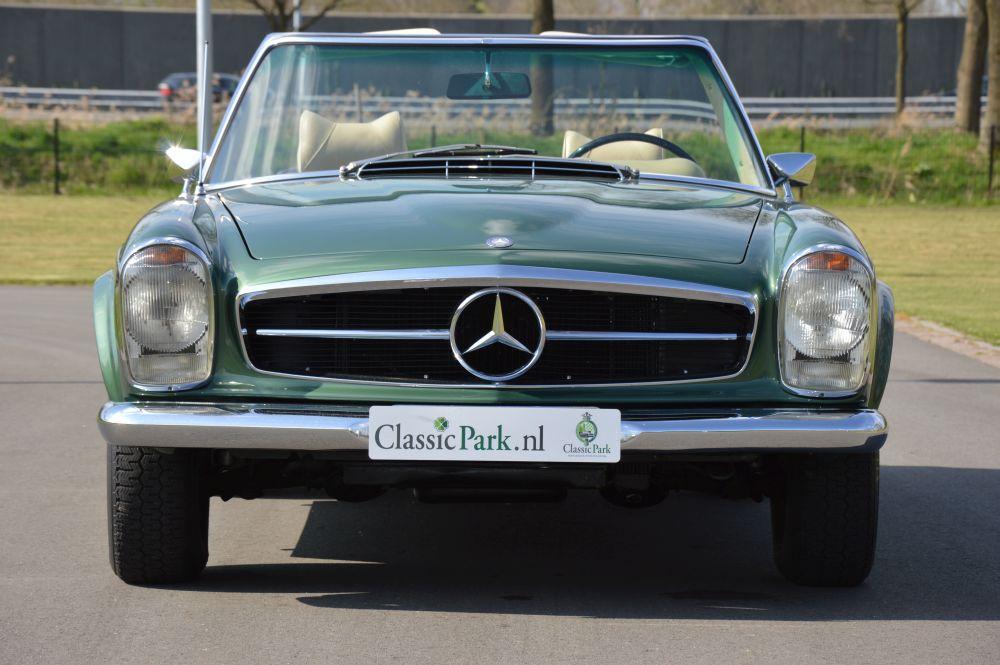 Classic park cars mercedes benz 280 sl automatic for Mercedes benz winter park