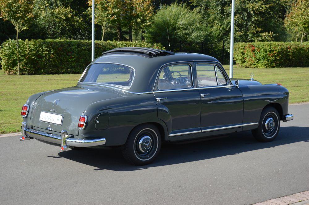 Classic park cars mercedes benz 219 ponton for Mercedes benz ponton