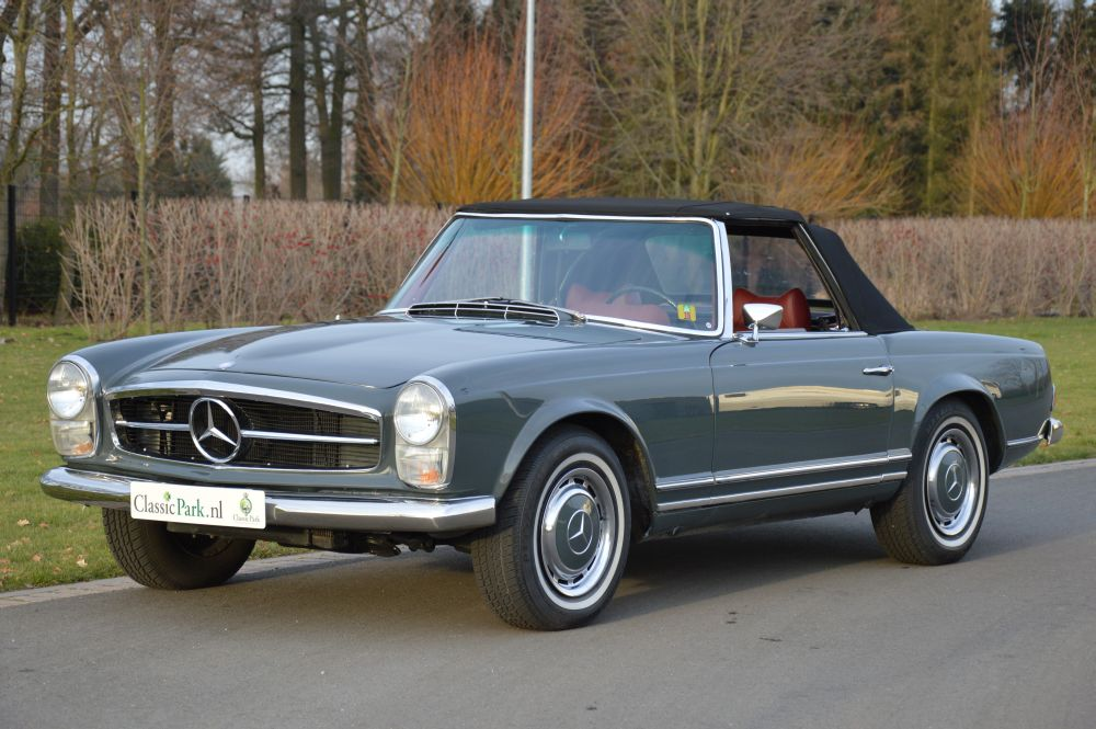 Classic Park Cars Mercedes Benz 280 Sl Automatic